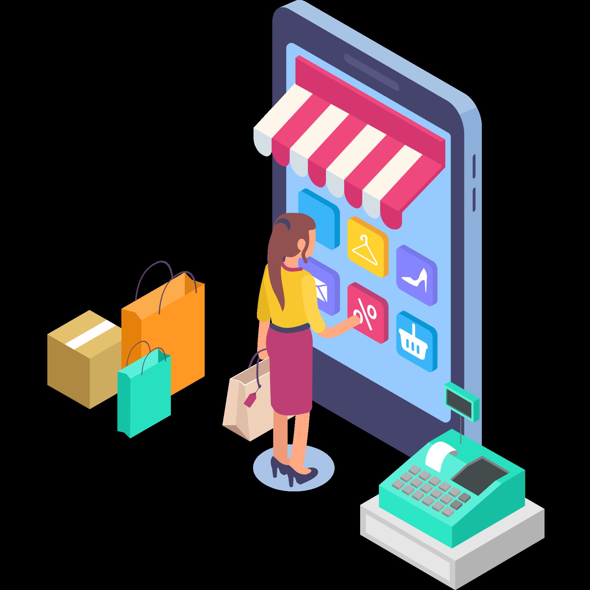 Online & Offline store